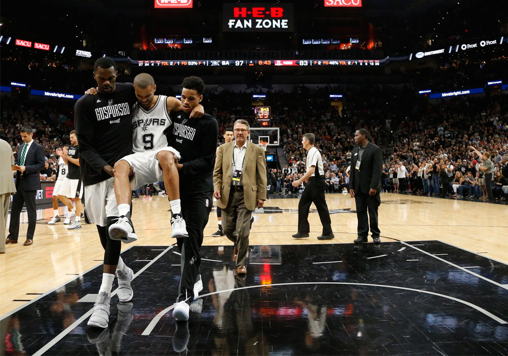 Spurs' Parker out for rest of playoffs with quad injury | Sports, News, The Philippine Star ...