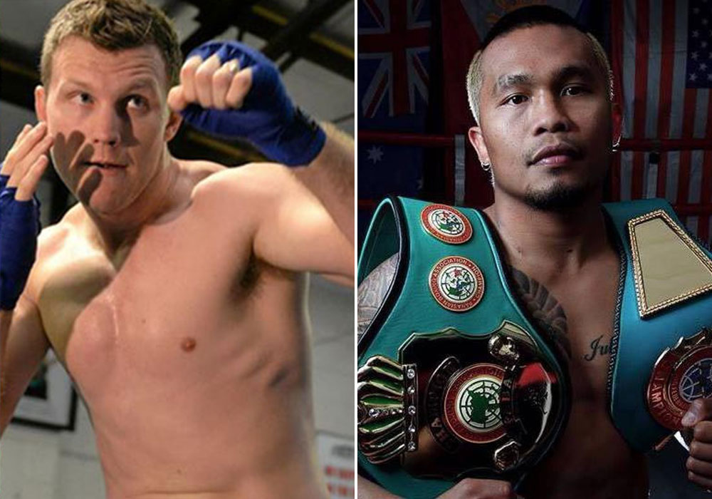 Jeff Horn is sparring with Filipino boxer Czar Amonsot as part of his preparation for Manny Pacquiao.