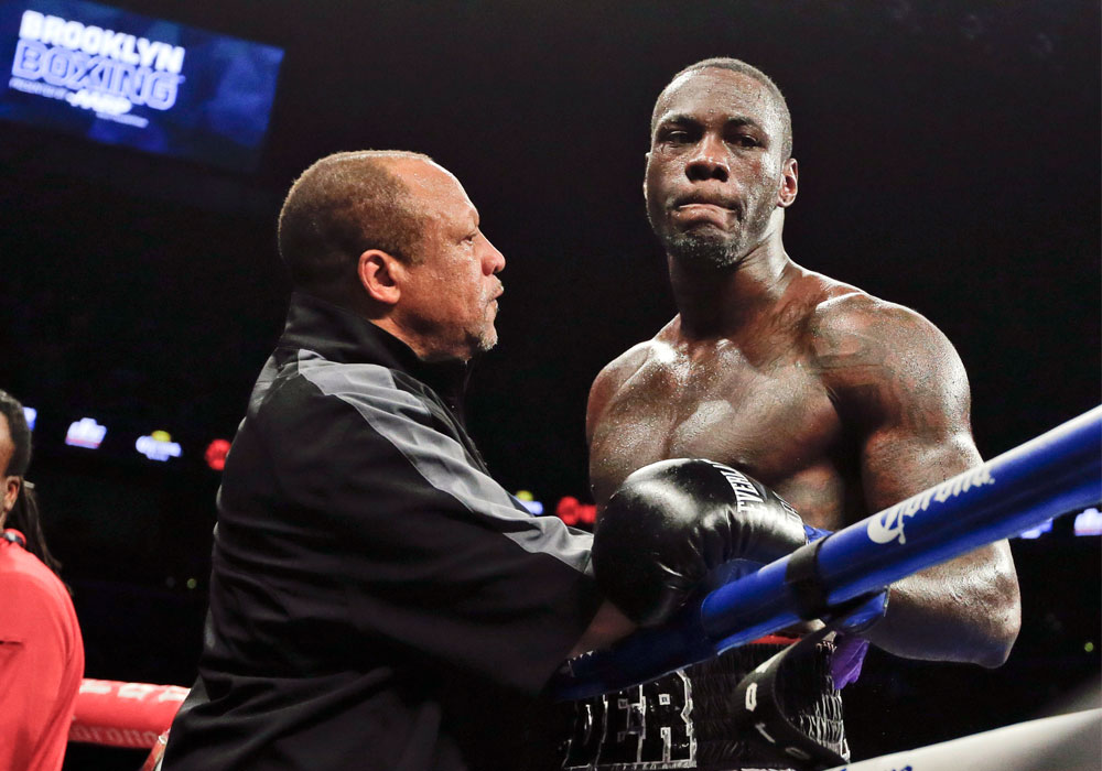Deontay Wilder, heavyweight boxing champion, charged with marijuana possession