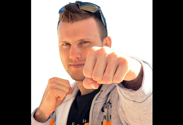 Jeff Horn prior to his media workout. ABAC CORDERO