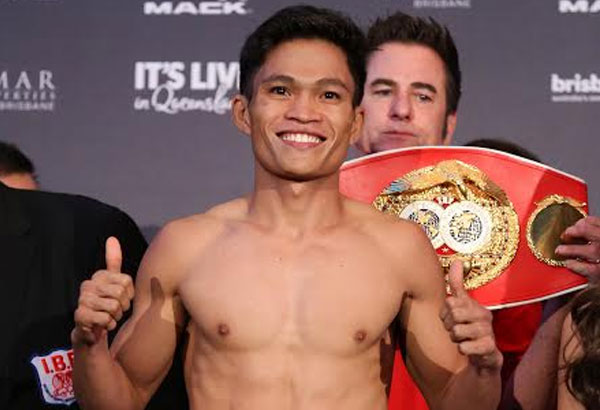 IBF junior bantamweight champion Jerwin Ancajas