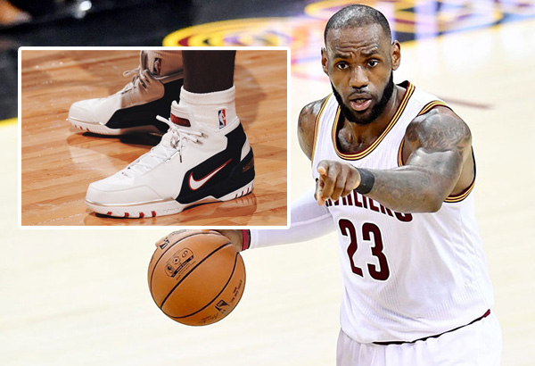 00bf0b279ca LeBron James  first signature shoe to hit stores again this Saturday ...