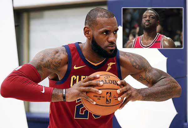 LeBron wants Wade at Cavs | Sports, News, The Philippine ...