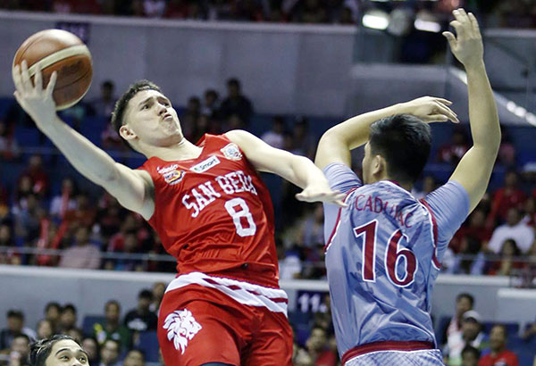 San Beda College's Robert Bolick | Philstar.com File Photo