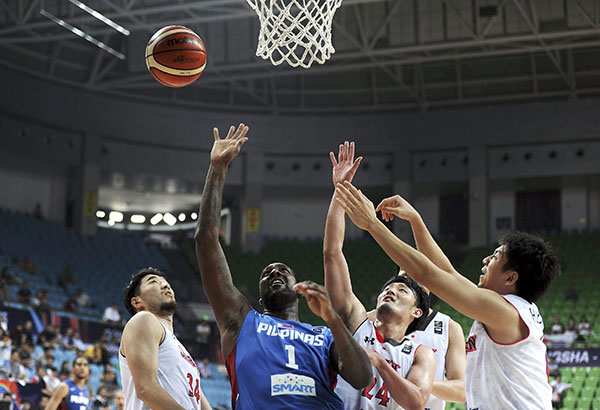 Naturalized Andray Blatche hopes to power Team Gilas Pilipinas again when the Filipinos open their campaign in the FIBA Asia World Cup elims against the Japanese this Friday in Tokyo. AP