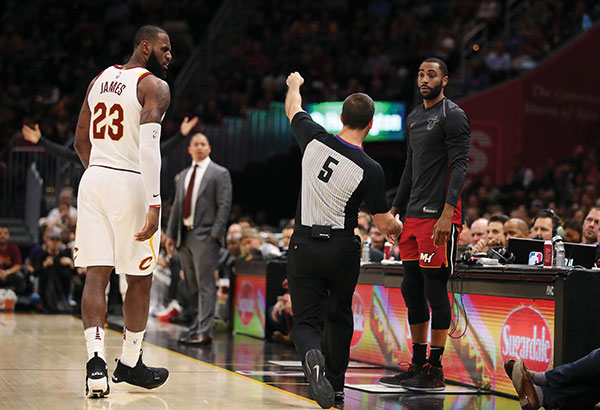 Cavaliers crush Miami Heat in 108-97 win