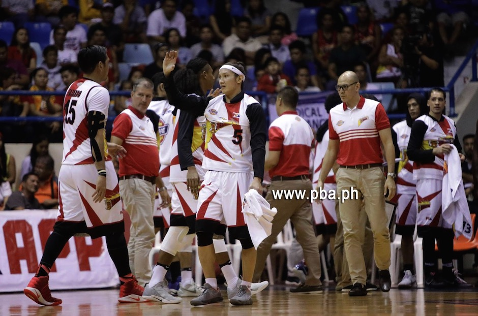 The only team with a perfect slate, the Beermen hope to keep their hot start in the new season although they remain wary of the Road Warriors' bid to bounce back from a sorry loss to the Magnolia Hotshots Sunday.