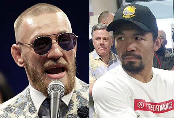Conor McGregor  and Manny Pacquiao
