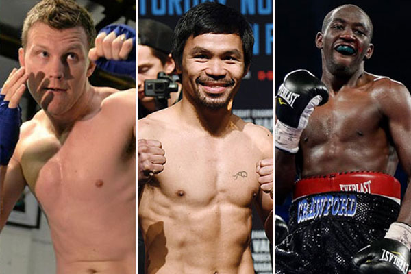 A planned April boxing card could feature Jeff Horn, Manny Pacquiao and Terence Crawford.