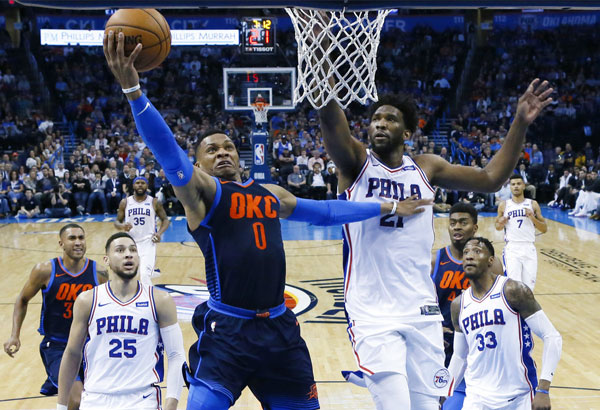 Kia MVP Ladder: Russell Westbrook Recapturing MVP Mojo From Season Ago