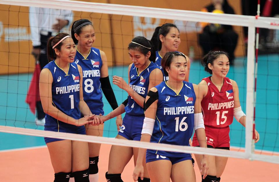 Philippine National Volleyball Team - Asian Games Volleyball 2018