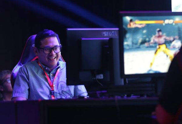 Esports athletes find a Senate supporter in Bam Aquino, 40, currently the second youngest senator in the upper house after Manny Pacquiao who's 38.