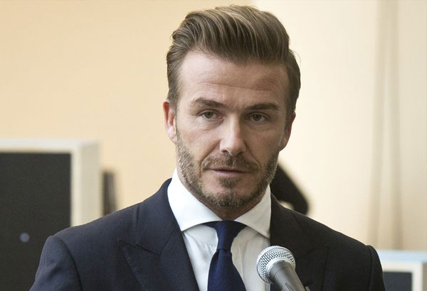 Manchester attack: Beckham says United's Europa League win 'brings happiness'