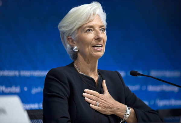 Image result for IMF Managing Director Christine Lagarde