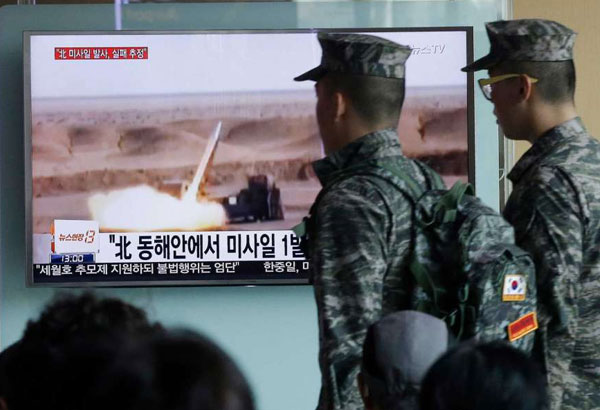 China Appeals For Calm On Korean Peninsula
