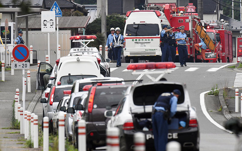 Man kills 19 disabled people in Japan calling for euthanasia