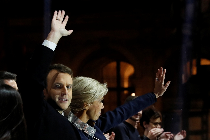 French presidency for Macron; name change for far-right