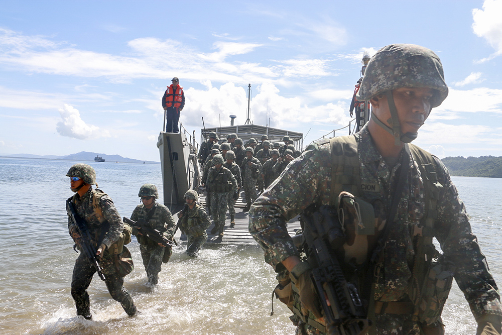 This year's Balikatan exercises focus on humanitarian assistance and disaster response. Philstar.com/Efigenio Toledo IV