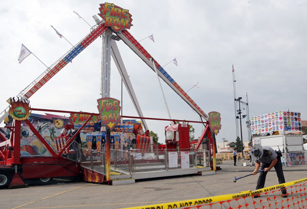 OH fair tragedy has local fairs talking safety