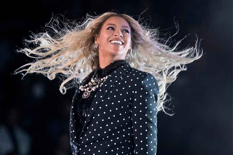 This Nov. 4, 2016, file photo shows Beyonce performing at a Get Out the Vote concert for Democratic presidential candidate Hillary Clinton in Cleveland. Forbes announced on Nov. 20, 2017, that Beyonce was the highest earning woman in the music industry. The outlet says she earned $105 million over a year-long period that ended in June. AP/Andrew Harnik, File