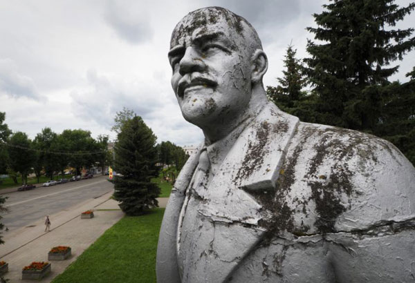 100 years after Russian revolution, Lenin statues abound ...