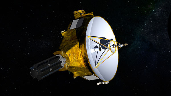 New Horizons probe whipped past Pluto two years ago. Now it's headed for 2014 MU69 and NASA is seeking a new nickname from the public until they can get a clearer picture of the object. NASA/JHUAPL/SwRI via AP