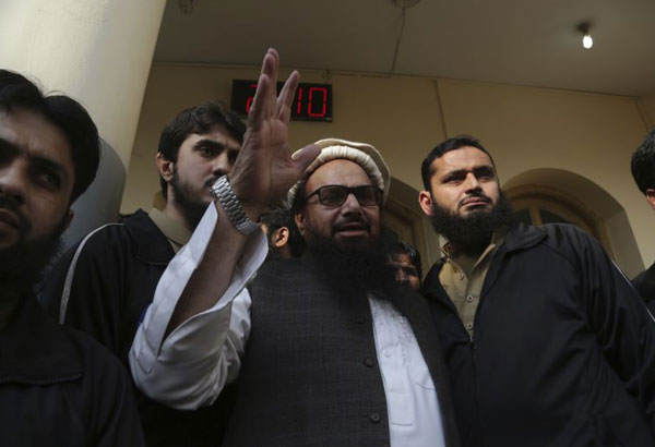 U.S. concerned over release of Hafiz Saeed from house arrest