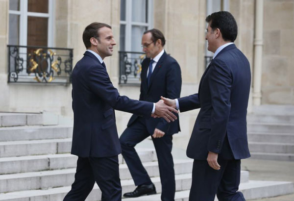 French President calls on Iraq to dismantle all militias