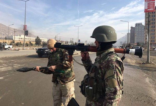 Afghan policemen killed in Taliban attack