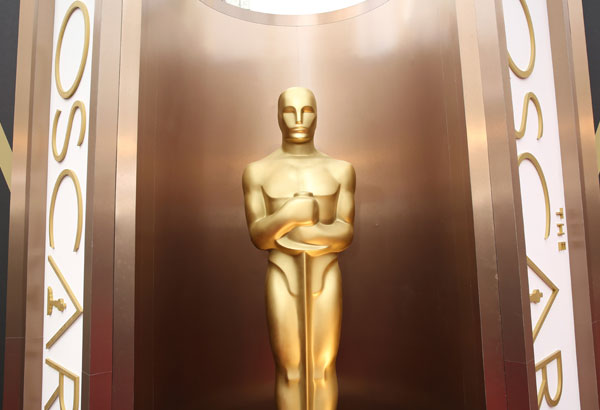 In this March 2, 2014 file photo, an Oscar statue is displayed at the Oscars at the Dolby Theatre in Los Angeles. Nominations for the 90th Oscars will be announced on Tuesday, Jan. 23, 2018. (Photo by Matt Sayles/Invision/AP, File)