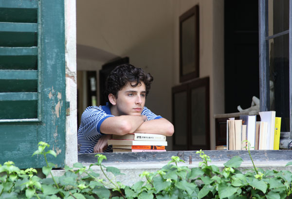 """This image released by Sony Pictures Classics shows Timothee Chalamet in a scene from """"Call Me By Your Name."""" Chalamet was nominated for an Oscar for best actor on Tuesday, Jan. 23, 2018. The 90th Oscars will air live on ABC on Sunday, March 4. (Sony Pictures Classics via AP)"""