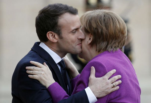 Map Of France Kisses.Germany France Start Work On Road Map For Eu Future Philstar Com