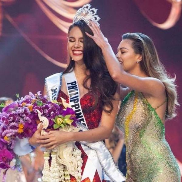 Catriona Gray Demi Leigh Peters Carousel Bares Whispered