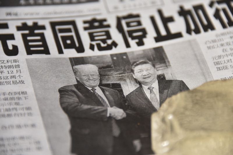 US President Donald Trump and Chinese President Xi Jinping agreed to suspend any new tariffs and give negotiators 90 days to strike a deal.