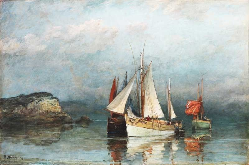 Hidalgo �Sailboats,� the lethal Luna Telegram, Bonifacio Papers at the León Gallery Auction