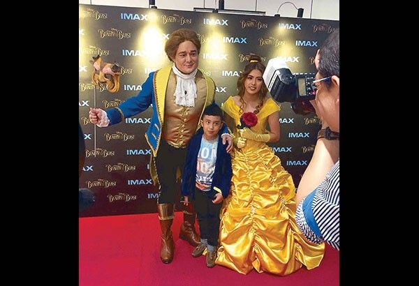 Pinoys cheer Beauty and The Beast