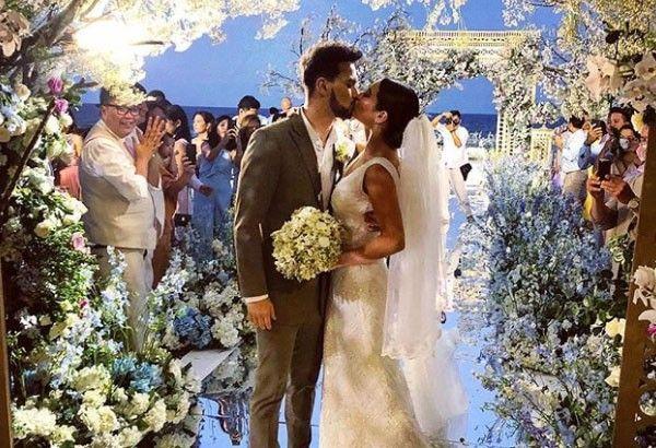 Billy Crawford Coleen Garcia Share Beach Wedding Photos Philstarcom