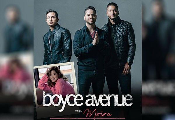 Boyce Avenue, Moira live at the Big Dome