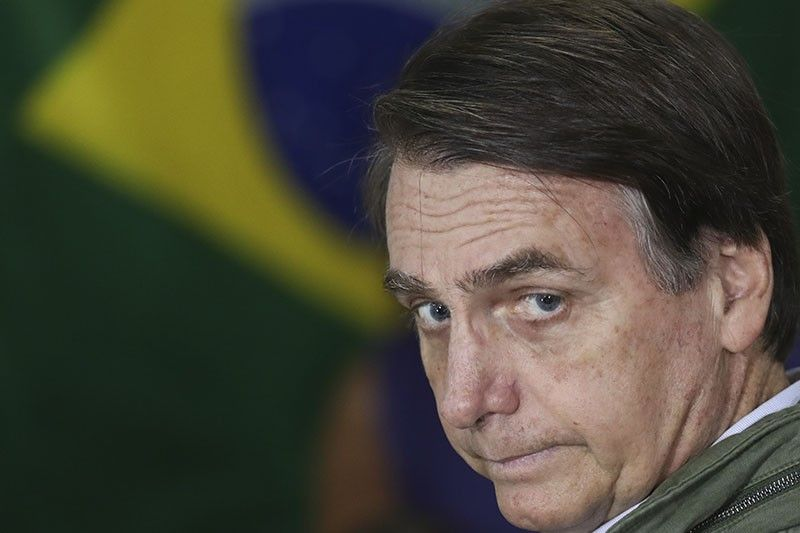 Brazil's Bolsonaro in US to cement an alliance with Trump