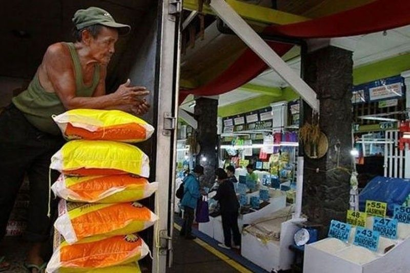 Philippine rice import dependency up