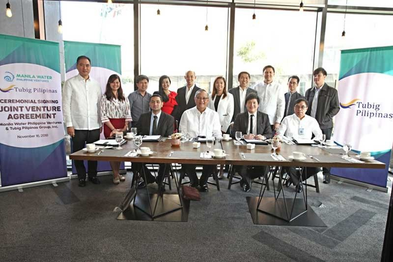 Manila Water signs joint venture for Isabela, Pangasinan water projects