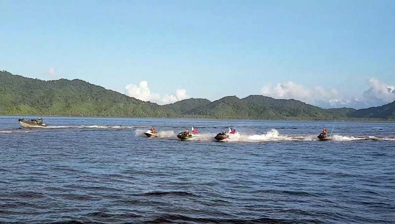 Jet ski cruise through Philippine Rise moves closer to shore