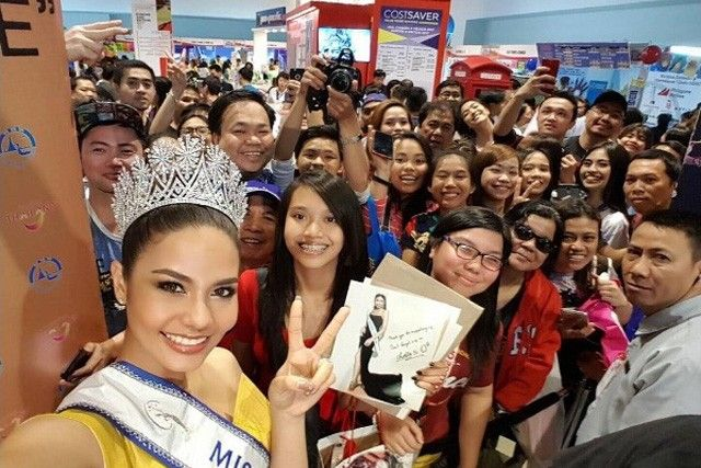Miss Thailand returns to the Philippines