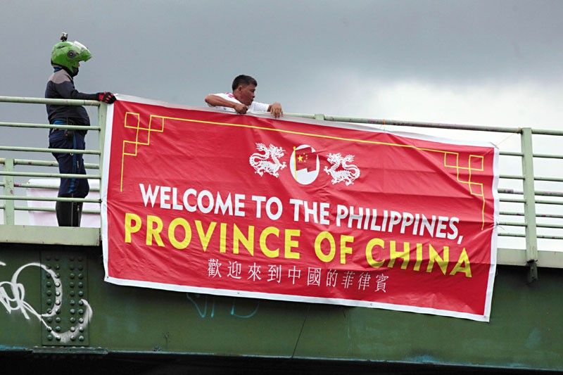 �Philippines a willing victim, abettor of China�