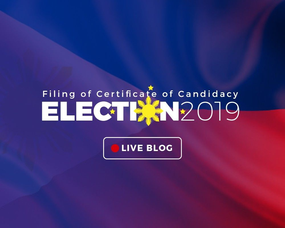 LIVE updates: 2019 candidacy filing