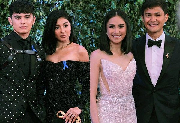 IN PHOTOS: Celebrity couples at ABS-CBN Ball 2018