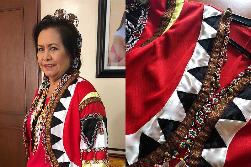 Davao del Sur solon flaunts tribal garb in support of BBL