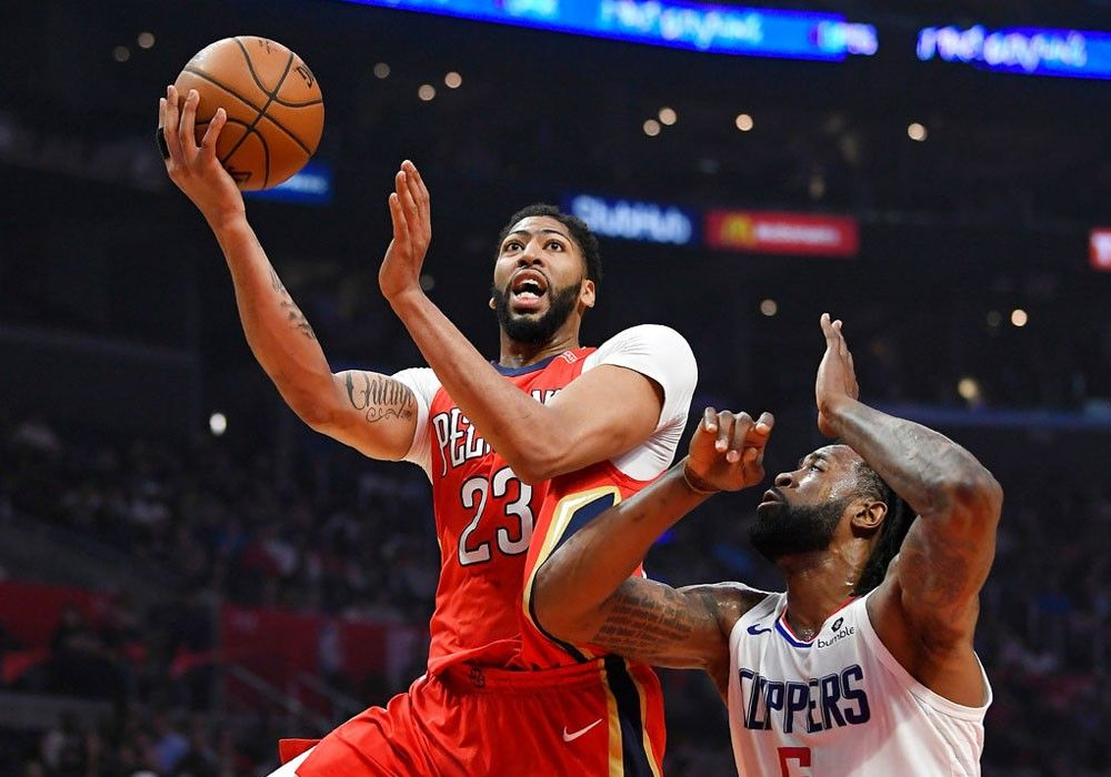 Pelicans peck at Clippers, enter playoffs