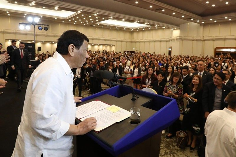 Duterte denies there is rice shortage in Philippines