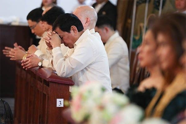 Duterte: Show me proof that God exists and I�ll resign